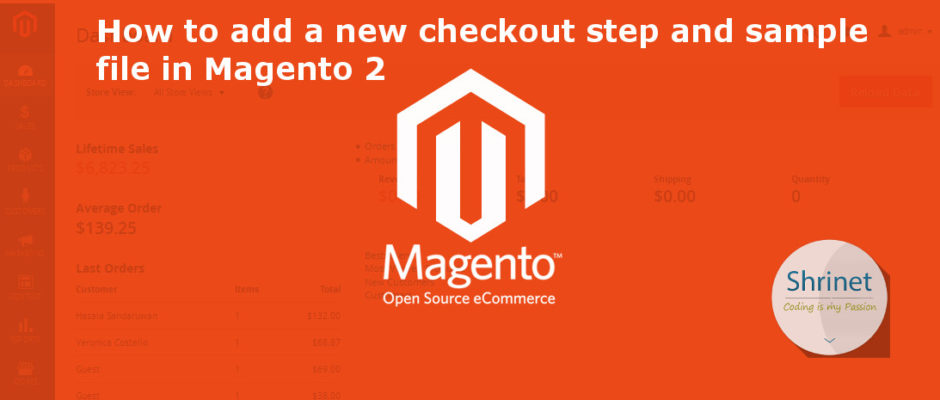 Magento new checkout step
